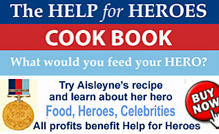 Food for Heroes Cook Book - all profits benefit Help for Heroes